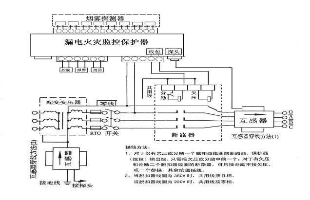 hdl-f漏电火灾监控器_电气火灾监控器 漏电火灾监控器 火灾监控报警